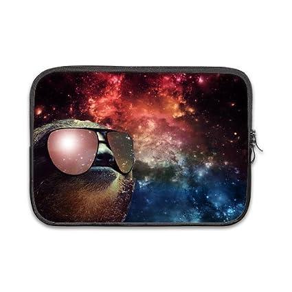 amazon com space nebula universe sloth wearing sunglasses 100