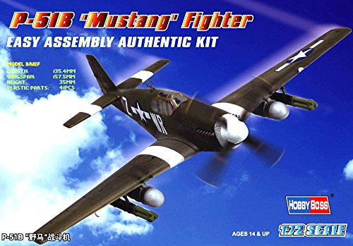P-51b Mustang Fighter - Hobby Boss P-51B Mustang Airplane Model Building Kit