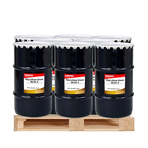 (9) Kegs Moly Extreme Pressure Lithium Grease #2 - 120LB. (16 Gallon) by Sinopec (Image #3)