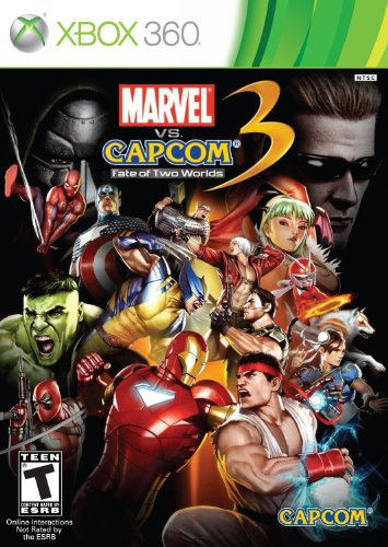 Marvel vs. Capcom 3: Fate of Two Worlds - Xbox 360 (360 Wolverine Xbox)