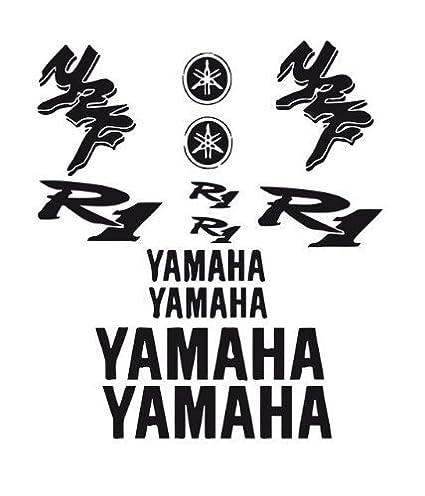 Amazon Com Vinyl Decal Mural Sticker Bike Motorcycle Yamaha R1 1998