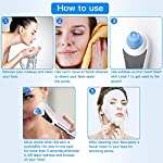 Upgraded Blackhead Remover Pore Vacuum, Facial Pore Cleanser Electric Acne Comedone Extractor Kit USB Rechargeable Blackhead Suction Tool with LED Display for Facial Skin