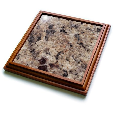 3dRose trv_97961_1 Napoli Venetian Gold Granite Print Trivet with Ceramic Tile, 8 by 8