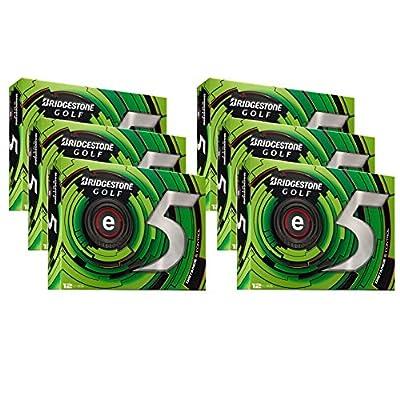 72 Bridgestone e5 High Flight Longer Distance Golf Balls, 6 Dozen | ECWX6D-E5