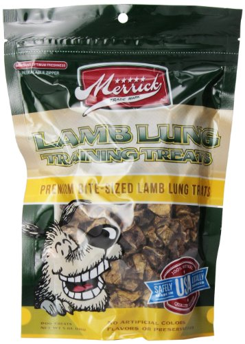 Merrick Bite Sized Lamb Canine Training Treats 5 Oz