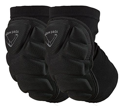 OMID Elbow Pads - Breathable Lightweight Padded Elbow Sleeve for Skiing Outdoor Sports (XL)