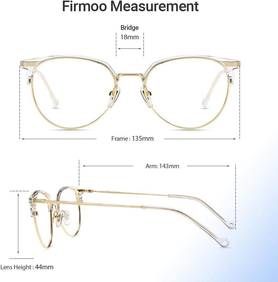 Firmoo Blaulichtfilter Brille ohne Sehst/ärke Entspiegelt f/ür Damen Blaulicht UV Schutzbrille f/ür Bildschirme Leichtgeiwcht Herren Browline Computer Brille gegen Kopfschmerzen Leopard