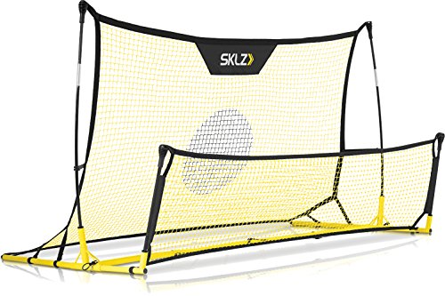 (SKLZ Quickster Soccer Trainer - Portable Soccer Rebounder Net Works as a Soccer Volley Trainer, Soccer Passing Trainer and Solo Soccer Trainer. 6-Feet by 4-Feet )