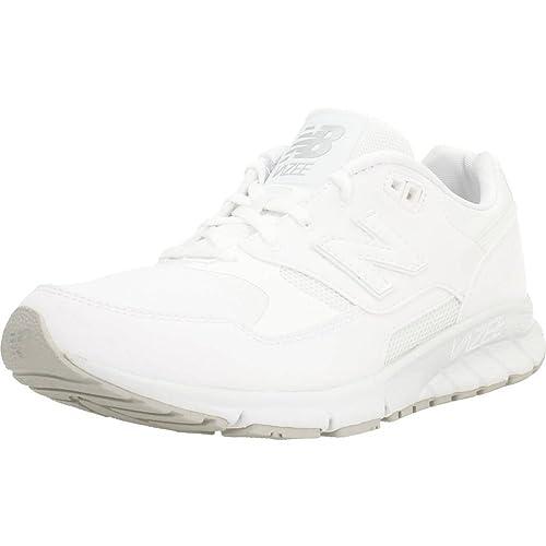 zapatos new balance hombres blancos