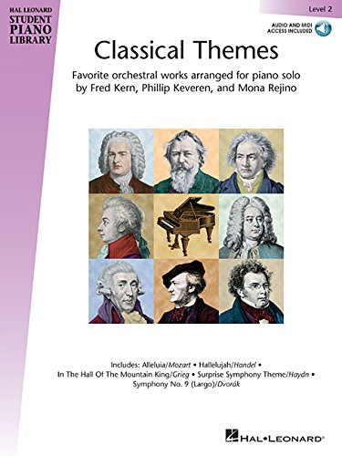 Download Classical Themes - Level 2: Hal Leonard Student Piano Library pdf