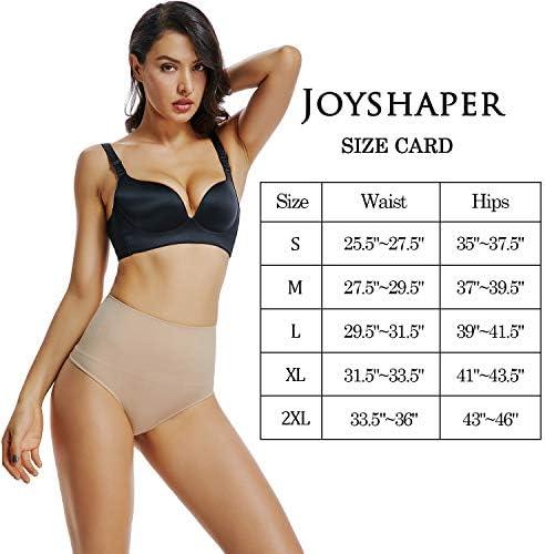 High Rise Thong Underwear for Women Seamless Thong Shapewear Tummy Control Shaping Panties