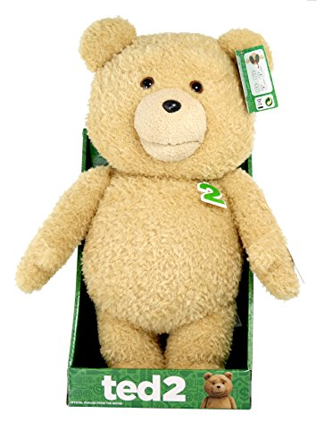 Ted 2 Talking Teddy Bear Explicit Plush Doll with Sound, 16