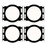 Theater Solutions RK6C In Ceiling Installation Rough In Kit for 6.5'' Speakers 2 Pair Pack