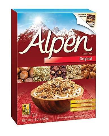 Alpen All Natural Muesli Cereal Original – 14 oz (paquete de ...