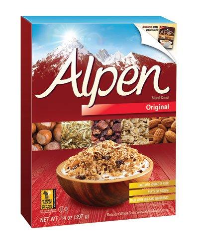 Alpen All Natural Muesli Cereal Original -- 14 oz (Pack of 2)