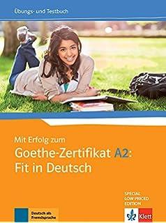 Buy PRÜFUNGSTRAINING GOETHE-ZERTIFIKAT A2 WITH CD Book