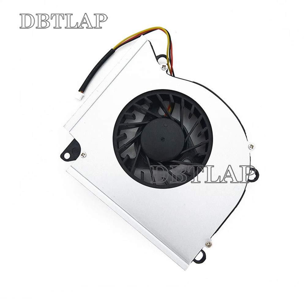 DBTLAP CPU Ventilateur Compatible pour MSI 1761 1762 GT783 GX780 GT60 GT70 GT780 GT60 GT70 GX60 3BE GX60 GX70 3BE Refroidissement Ventilateur