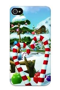 Freshmilk HIqYn0Ldfzc Case For Iphone 4/4s With Nice Holidays Christmas Seasonal Appearance