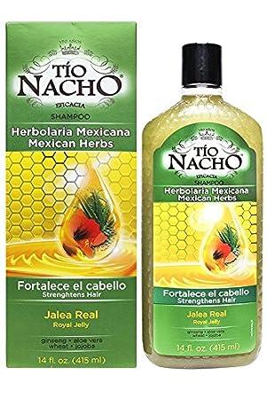 Amazon.com : TIO NACHO Mexican Herbs Shampoo 14 Oz : Facial Treatment Products : Beauty