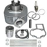 11210-40B01 OEM replacement Suzuki LT80 Cylinder Piston Kit Rings Gaskets Pin Top End Set 1987-2006