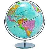 "ADVANTUS 12"" Desktop World Globe with Blue Oceans (30502)"