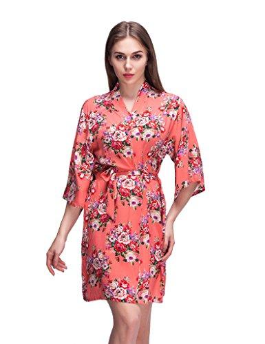 Isoft Womens Short Kimono Bridesmaid product image