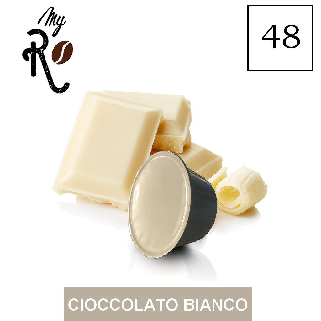 48 Cápsulas de café compatibles Nescafé Dolce Gusto - Chocolate blanco- Cápsulas compatibles con máquinas Nescafé Dolce Gusto - (Paquete de 3x16 por un ...