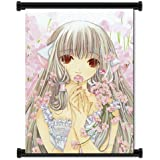 """Chobits Anime Fabric Wall Scroll Poster (16x23"""") Inches"""