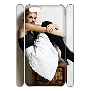 TOSOUL Customized 3D case Kate Upton for iPhone 5C