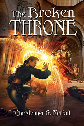 The Broken Throne (Schooled in Magic Book 16) (Best Wishes For A Speedy Recovery)