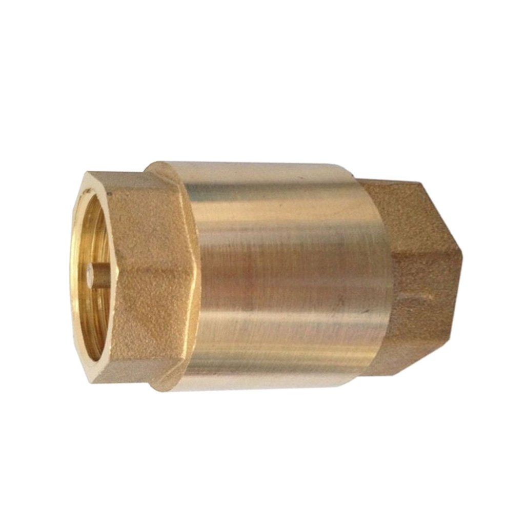 F Fityle 2'' Brass Check Non-Return Valve Female With Brass Insert