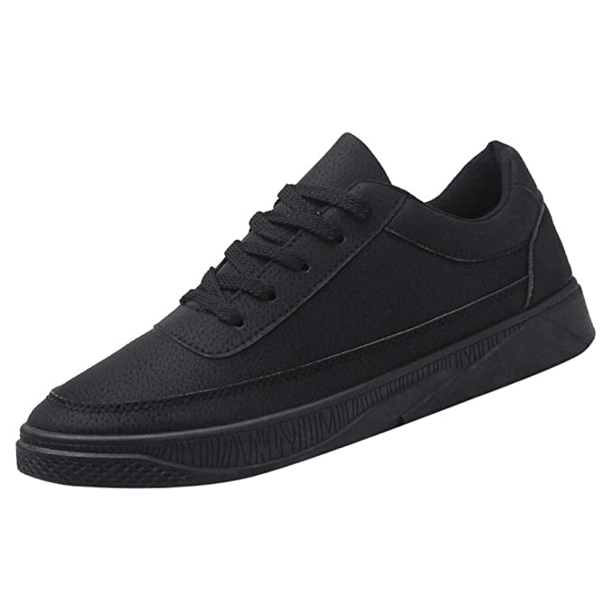 efd787bbe9415 Amazon.com: Oliviavan Men's Casual Travel Shoes Running Shoes Lace ...