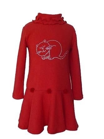 fb7d15b095aad Trocadero - Mode für Kinder - Robe - Manches Longues - Fille  Amazon.fr   Vêtements et accessoires