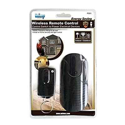 Uninex PS51UPC Indoor Outdoor AC Power Outlet with Wireless Remote Control Switch, UL Listed