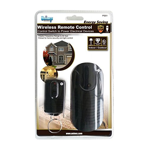 Uninex indoor outdoor wireless remote control switch power - Remote control exterior light switch ...