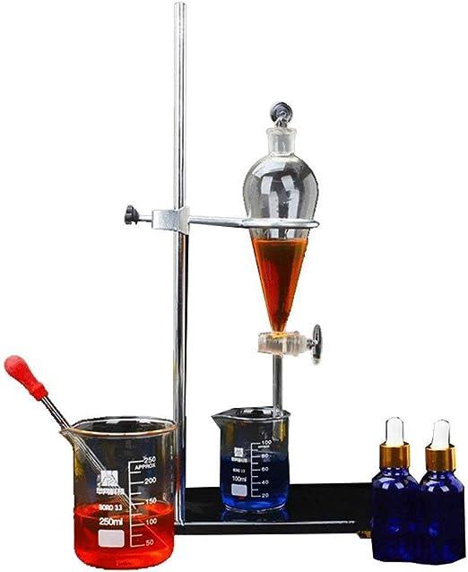 NSDFG Laboratorio químico de separación de Embudo del Tubo de ...