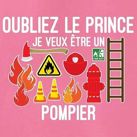 0-18 Mois B/éb/é-Body 7 Couleur Oubliez Le Prince Je Veux /Être Un Pompier