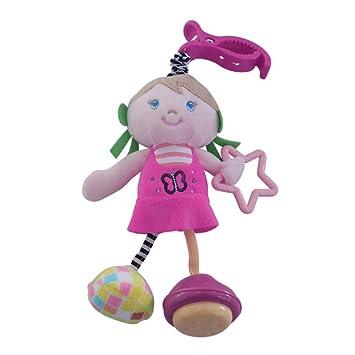 TrifyCore Cuna Colgante de Juguete Sonajero de Bebé Juguetes Colgantes Sonajeros de Bebé Desarrollo de Felpa