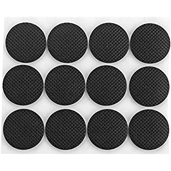 Shintop Self Stick Rubber Anti Skid Pad 48 Piece Value Pack Furniture And  Floor Protectors (Round)