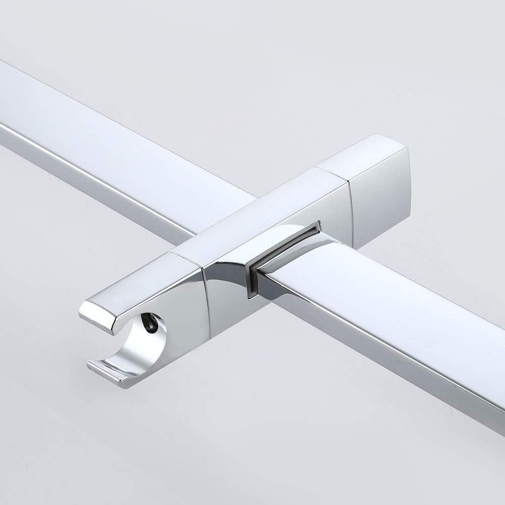 F204-2 KES Sanitary Ware VDTAZ012A Brushed SUS 304 Stainless Steel KES Shower Slide Bar for Bathroom with Adjustable Handheld Shower Holder Wall Mount