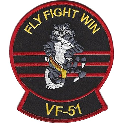 VF-51 Fighter Squadron F-14 Tomcat Patch