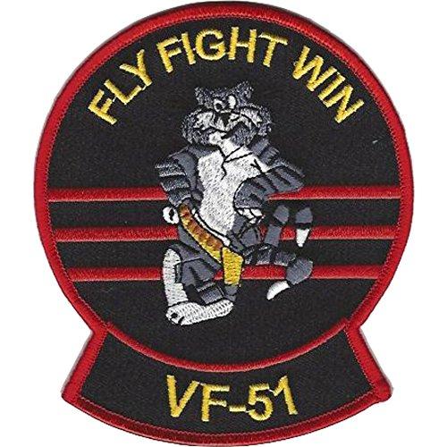 F-14 Squadron - VF-51 Fighter Squadron F-14 Tomcat Patch