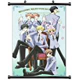 "Ouran High School Host Club Anime Fabric Wall Scroll Poster (16"" x 24"") Inches. [WP]-Ouran-45"