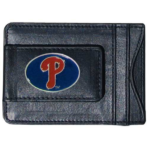 Philadelphia Baseball Phillies Leather (Siskiyou MLB Philadelphia Phillies Leather Cash and Card Holder)