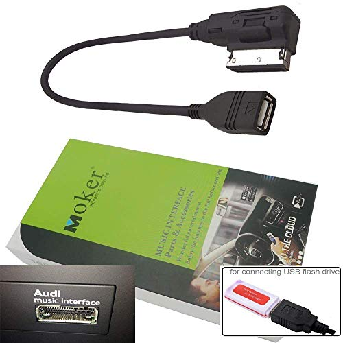 Moker for Audi AMI MMI Music Interface USB Cable