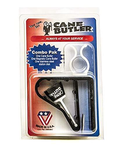 (Cane Butler Combo Pack Includes Original Cane Butler, Disk Station, and Magnetic Cane Butler)