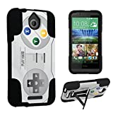 DuroCase ® HTC Desire 510 Kickstand Bumper Case – (Video Game Controller)