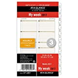 """Day Runner Weekly Planner Refill 2017, 3-3/4 x 6-3/4"""", Size 3 (471-285Y)"""