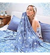 Cooling Blanket with Double Sided Cold, Queen Size Big Oversized Bed Blankets, Lightweight Breath...