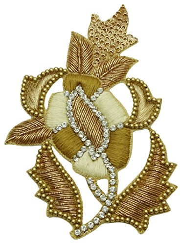 Floral Applique Patterns - Decorative Applique Floral Pattern Supply Royal Patches Craft Sewing 1 Piece